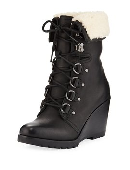 After Hours Lace Up Waterproof Boots by Sorel