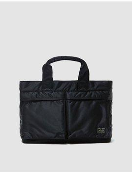 Tanker Tote Bag In Black by Porter Yoshida & Co.