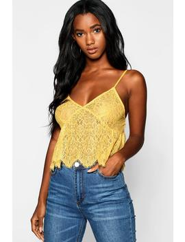 All Over Eyelash Cami by Boohoo