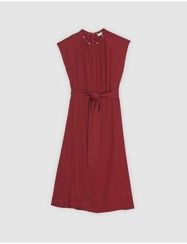 Sleeveless Midi Dress by Sandro Eshop