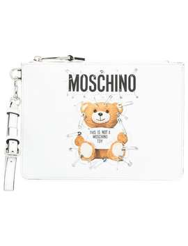 Teddy Bear Clutch Bag by Moschino