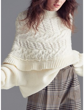 Pullover Mit Wollanteil by Reserved