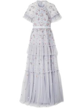 Lustre 分层式带缀饰绢网礼服 by Needle & Thread