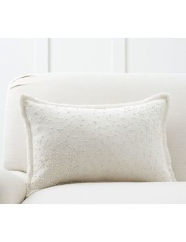 Pearl Embroidered Pillow Cover by Pottery Barn
