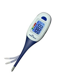 Easy@Home Digital Thermometer For Oral, Rectal Or Axillary Underarm Body Temperature Measurement With Backlit Lcd Display, Waterproof Flexible Tip,Test Completion&Fever Alarm,Clinical Accurate,Emt 026 by Amazon