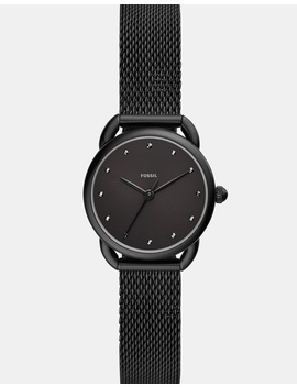 Tailor Black Analogue Watch by Fossil