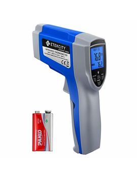Etekcity 1022 D Dual Laser Digital Infrared Thermometer Temperature Gun Non Contact  58℉~1022℉ ( 50℃ ~ 550℃) With Adjustable Emissivity & Max Measure For Meat Refrigerator Pool Oven by Amazon