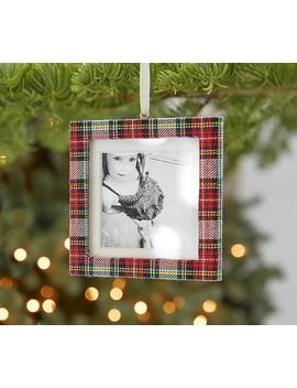Plaid Frame Ornaments by Pottery Barn Kids