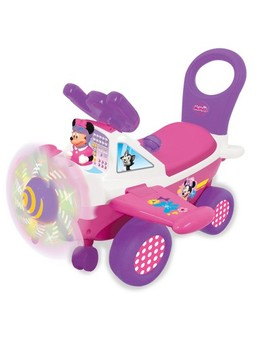 Kiddieland Disney Minnie Activity Plane Ride On by Disney