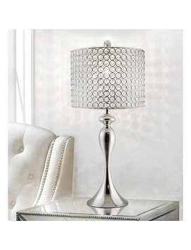 "Mercer41 Marengo Crystal 27"" Table Lamp by Mercer41"