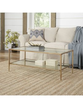Wrought Studio Safire Double Shelf Coffee Table & Reviews by Wrought Studio