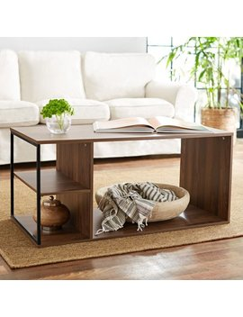 Mainstays Kalla Wood And Metal Coffee Table, Multiple Colors by Mainstays