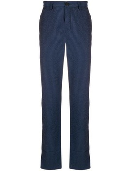 Pinstriped Trousers by Loewe