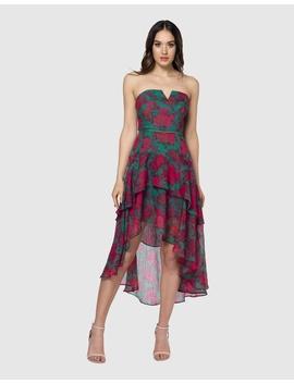 Spiced Strapless Dress by Pilgrim