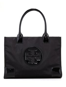 Mini Ella Tote Bag, Black by Tory Burch