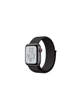 AppleWatch Nike+ Series4 Gps+Cellular, 40mm Space Gray Aluminum Case With Black Nike Sport Loop by Apple