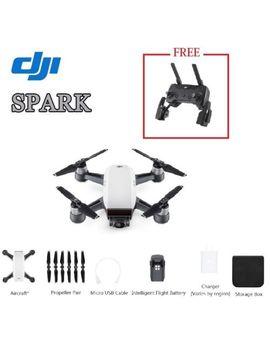 Dji Spark Camera Drone & Get A Spark Remote Controller Free  Alpine Weiß (Uk) by Dji