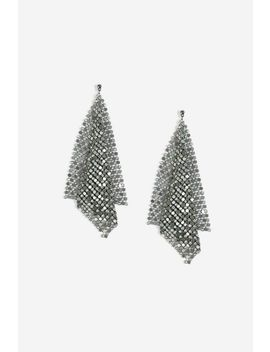 Chainmail Drop Earrings by Topshop