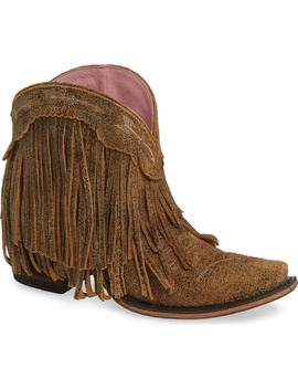 Spitfire Fringe Bootie by Lane Boots