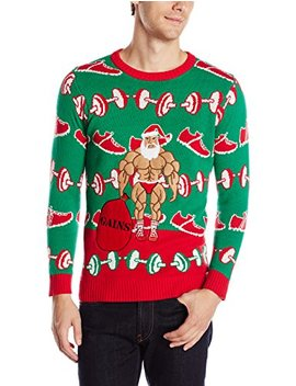 Blizzard Bay Men's Santa Gains Ugly Christmas Sweater by Blizzard+Bay