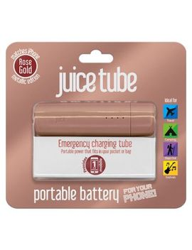 Juice Tube Powerbank Rose Gold by Juice