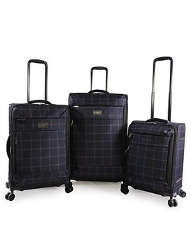 Original Penguin 3pc Expandable Suitcase Set With Spinner Wheels by Original+Penguin