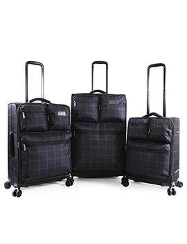 Original Penguin Norton 3pc Expandable Suitcase Set With Spinner Wheels by Original+Penguin