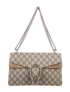 Gg Supreme Small Dionysus Shoulder Bag by Gucci