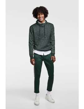 Shawl Collar Sweater  Sweatshirts Basics Man by Zara