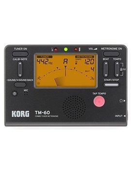 Korg Tm60 Bk Combo Tuner Metronome  Black by Korg