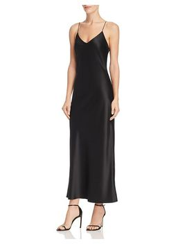 Rosemary Silk Slip Dress by Anine Bing