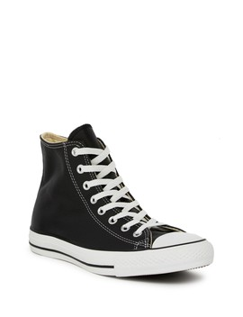 High Top Leather Sneaker by Converse