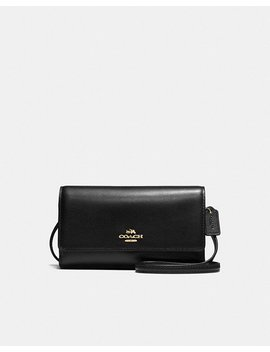 Phone Crossbody In Smooth Leather by Coach