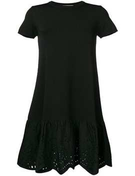 Broderie Anglaise Trim Dress by Valentino
