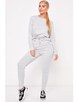Gill Grey Loungewear Set by Misspap