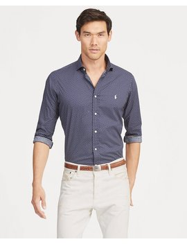 Classic Fit Print Poplin Shirt by Ralph Lauren