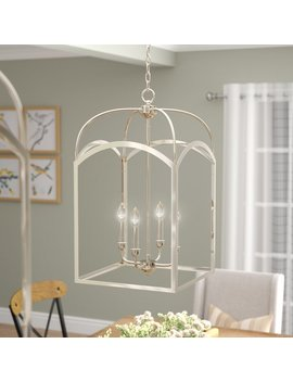 Laurel Foundry Modern Farmhouse Mount Airy 4 Light Foyer Pendant & Reviews by Laurel Foundry Modern Farmhouse