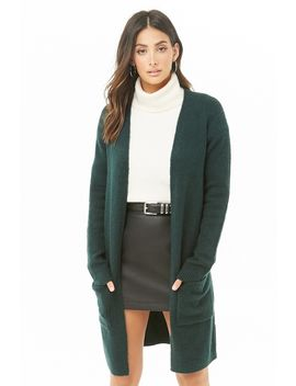 Open Front Duster Cardigan by Forever 21