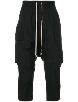 Tapered Cargo Trousers by Rick Owens