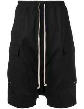 Elasticated Waist Shorts by Rick Owens