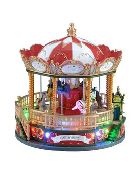 Holiday Time Carousel Decoration by Holiday Time