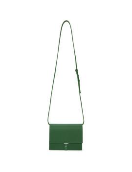 Green Flap Bag by Pb 0110
