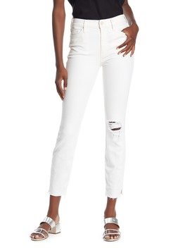 The Vamp Raw Hem Jeans by Mother