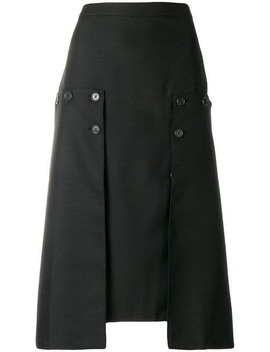Pleated Panel Skirt by