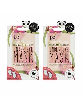 Awakening Red Ginsing & Eucalyptus Under Eye Gel Pad Masks Pack Of 2 by Npw