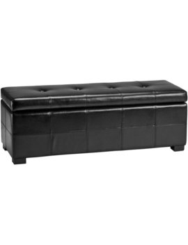 Alcott Hill Catherine Faux Leather Storage Bench & Reviews by Alcott Hill