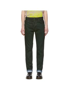 Green Fearless Freddie Jeans by Nudie Jeans