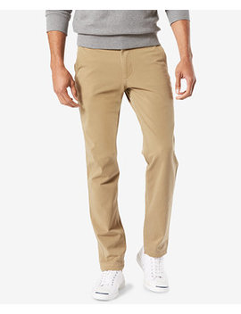 Men's Downtime Slim Tapered Fit   Smart 360 Flex Khaki Stretch Pants by Dockers