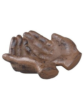 Cast Iron Hands Dish   3 R Studios by 3 R Studios