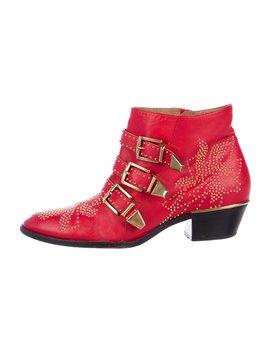Susanna Studded Ankle Boots by Chloé